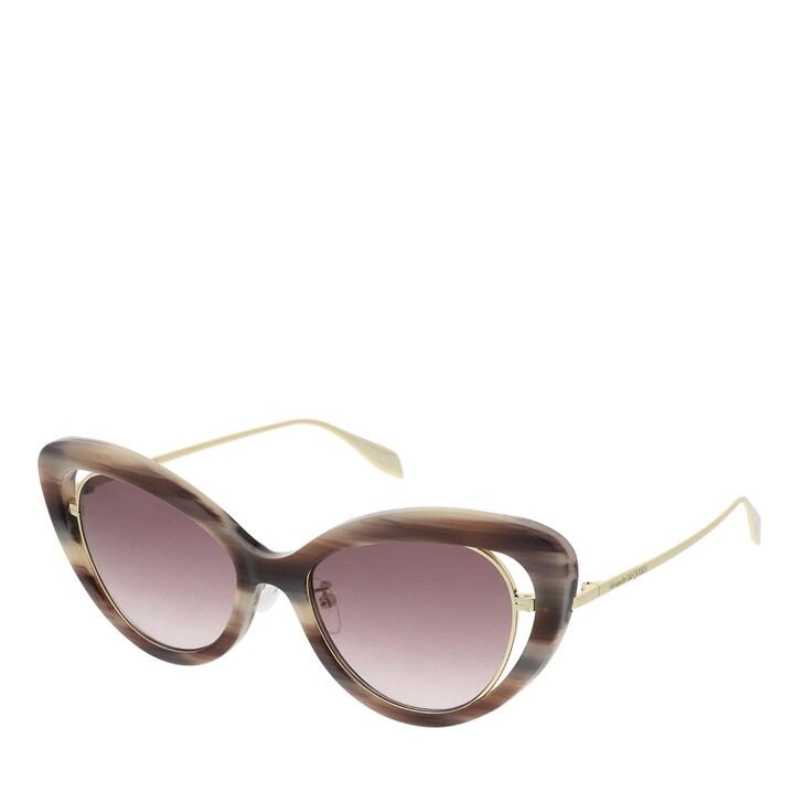 Sonnenbrille, Alexander McQueen, AM0223S-004 53 Sunglass WOMAN ACETATE PINK