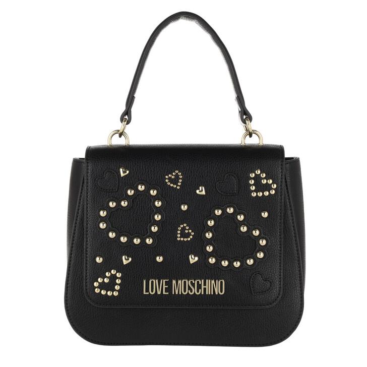 Handtasche, Love Moschino, Borsa Handle Bag Nero