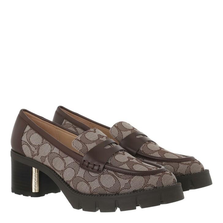 shoes, Coach, Cora Jacq Loafer