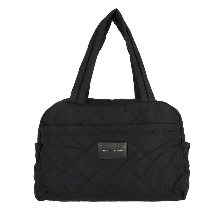 Reisetasche, Marc Jacobs, Medium Weekender Nylon Black