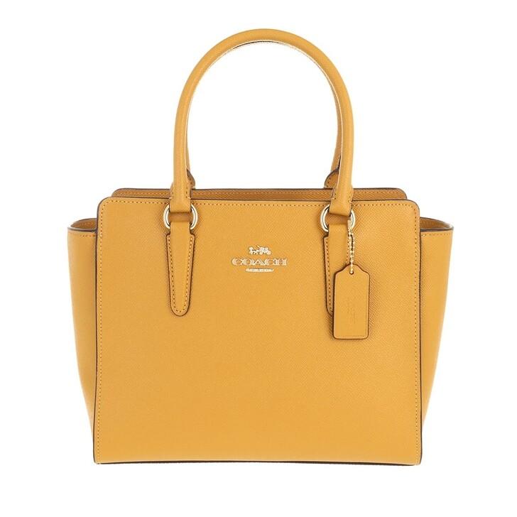 Handtasche, Coach, Womens Bags Satchels Yellow
