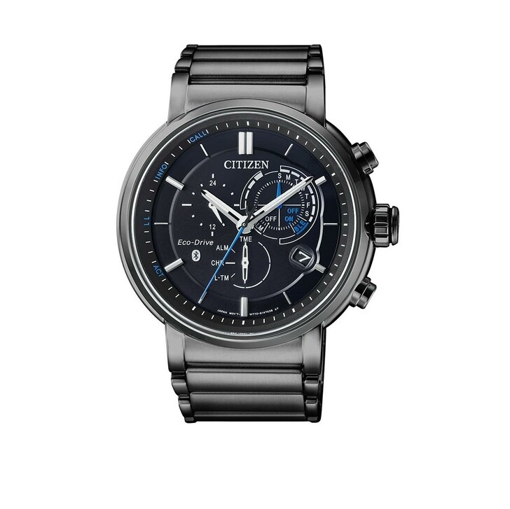 Uhr, Citizen, Bluetooth Wristwatch Gunmetal Black