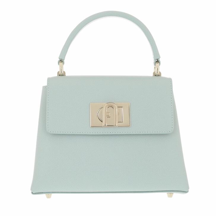 bags, Furla, Furla 1927 Mini Top Handle Menta
