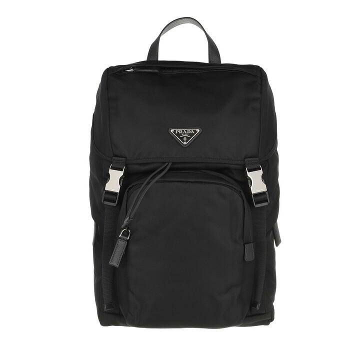 Reisetasche, Prada, Nylon Backpack Black