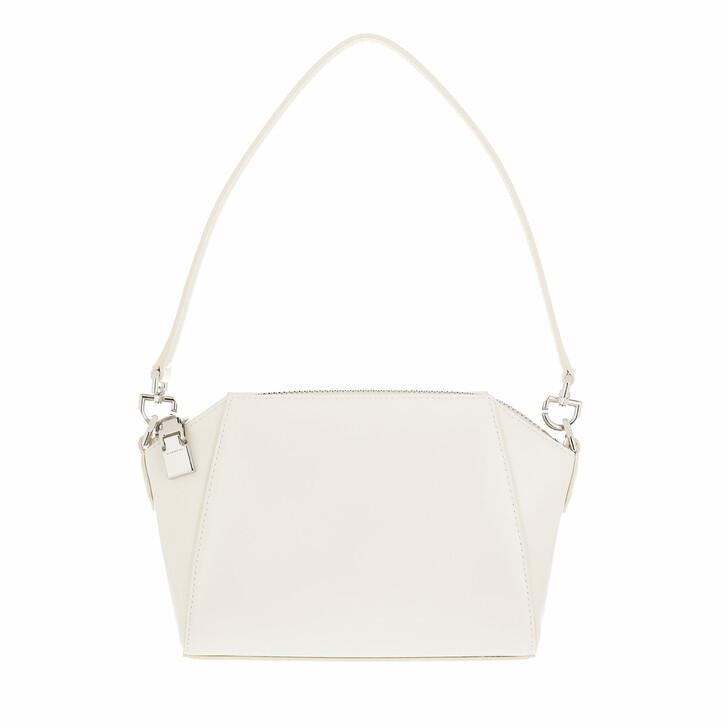 bags, Givenchy, XS Antigona Crossbody Bag Leather Ivory
