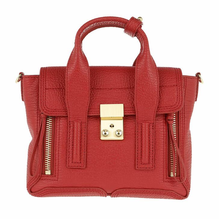 bags, 3.1 Phillip Lim, Pashli Mini Satchel Red