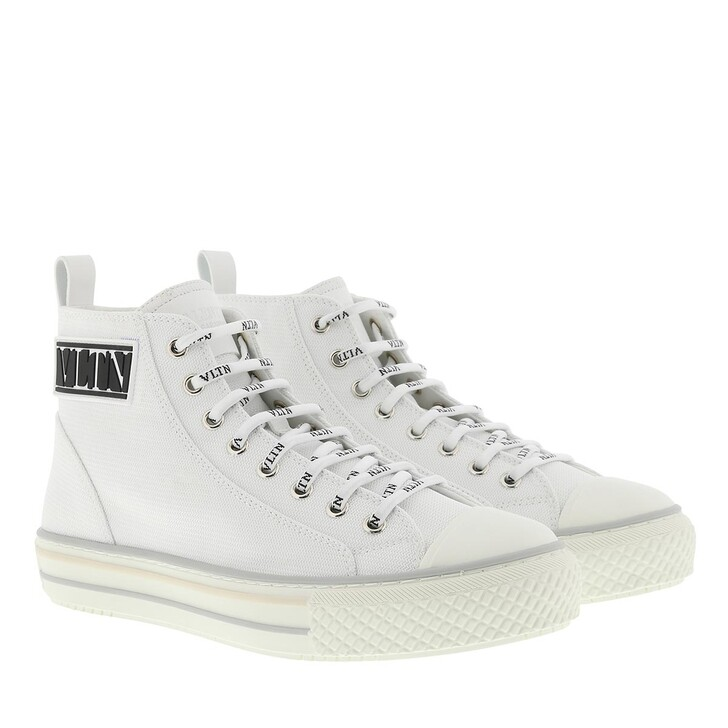 Schuh, Valentino Garavani, VLTN High Top Sneakers White