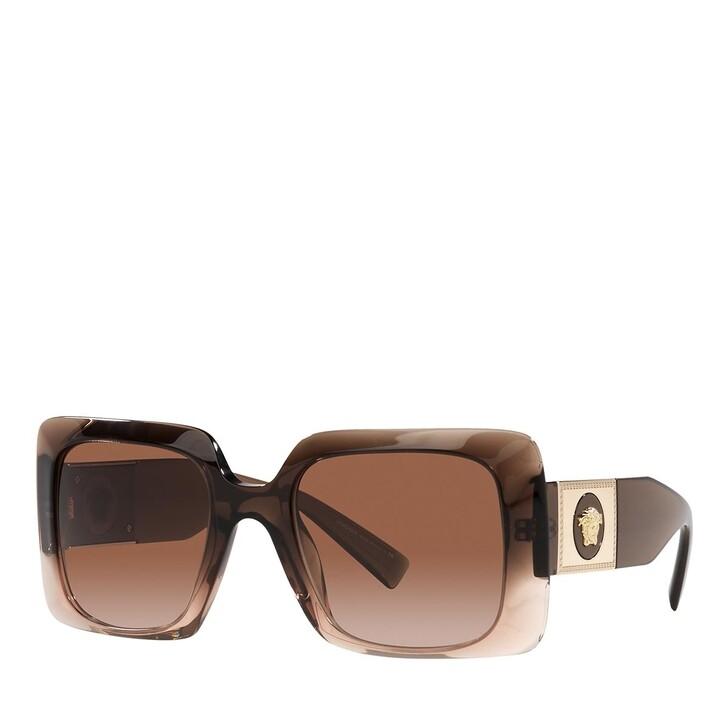 sunglasses, Versace, 0VE4405 TRANSPARENT BROWN GRADIENT