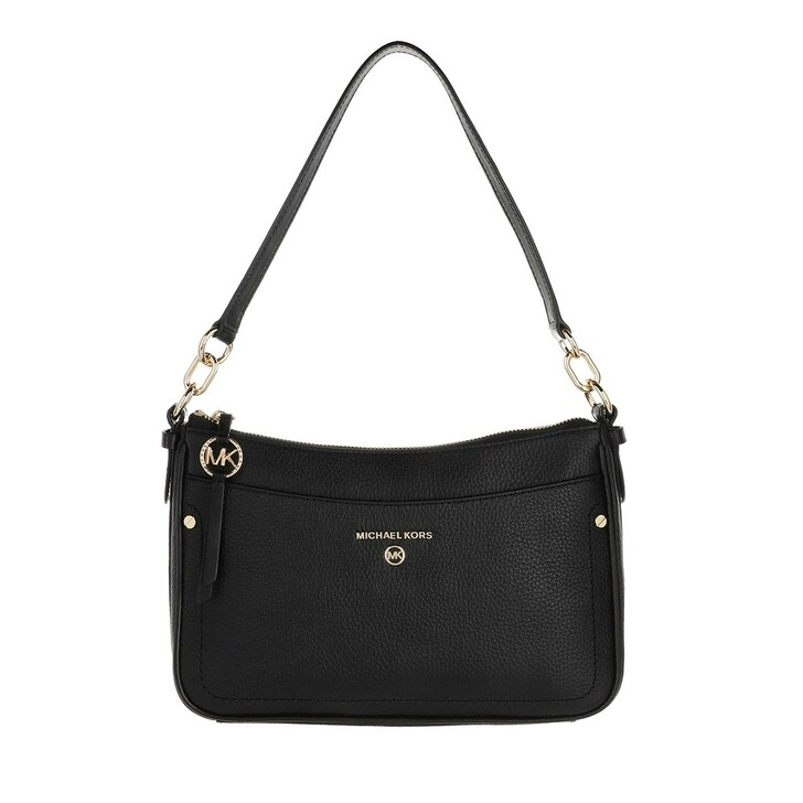 Handtasche, MICHAEL Michael Kors, Medium Tz Pochette  Handbag  Leather Black