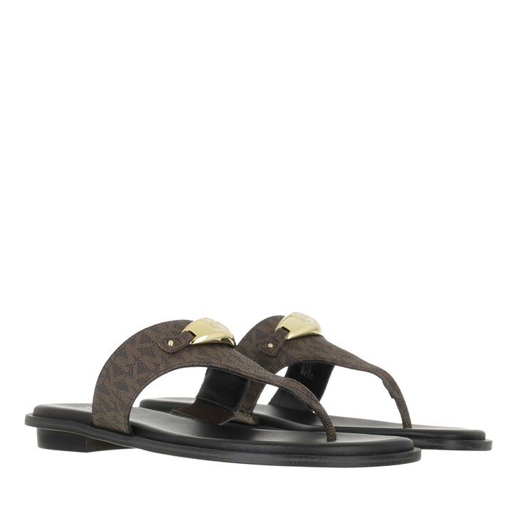 shoes, MICHAEL Michael Kors, Tilly Thong Brown