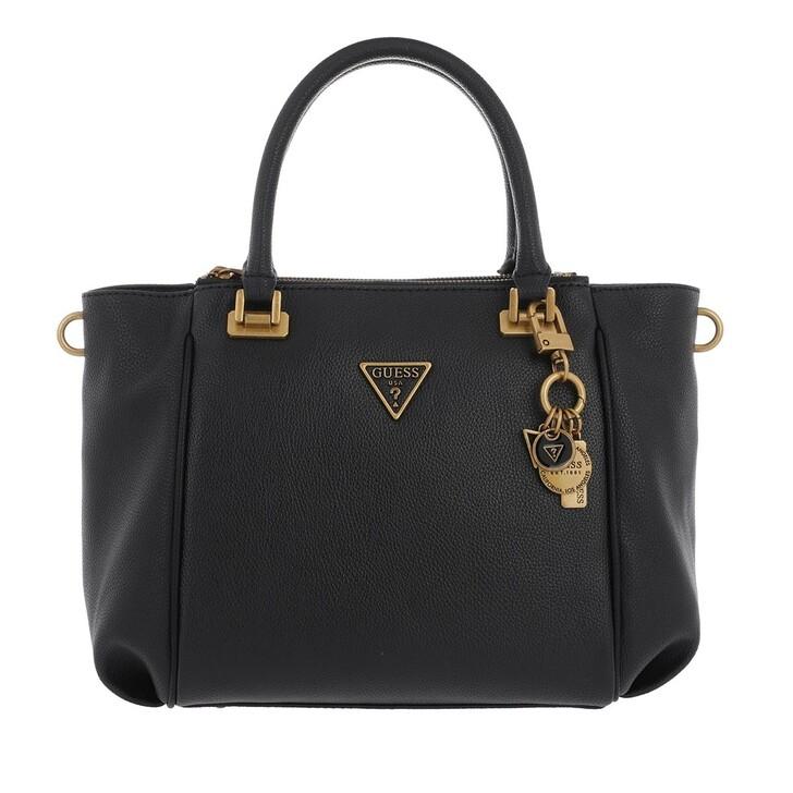 bags, Guess, Destiny Status Satchel Black