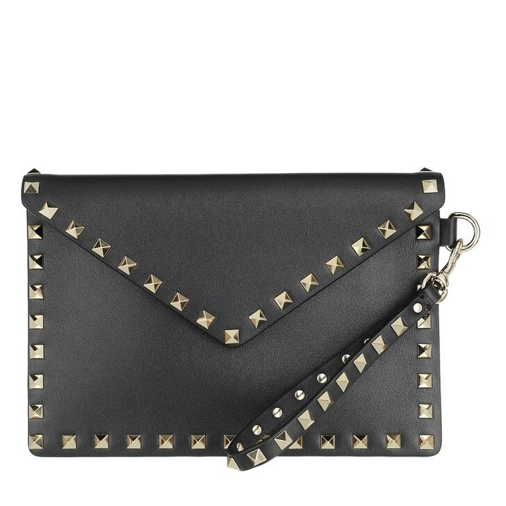 Handtasche, Valentino Garavani, Medium Pouch Black