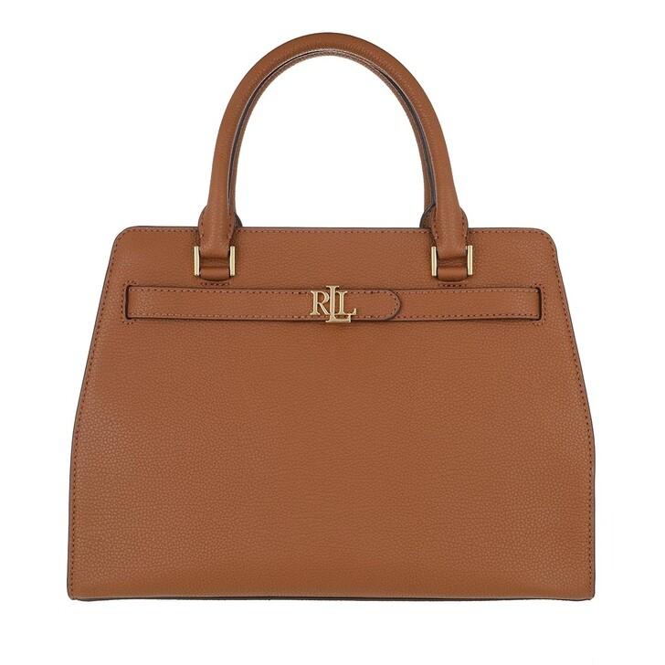 Handtasche, Lauren Ralph Lauren, Fenwick 32 Satchel Medium Lauren Tan