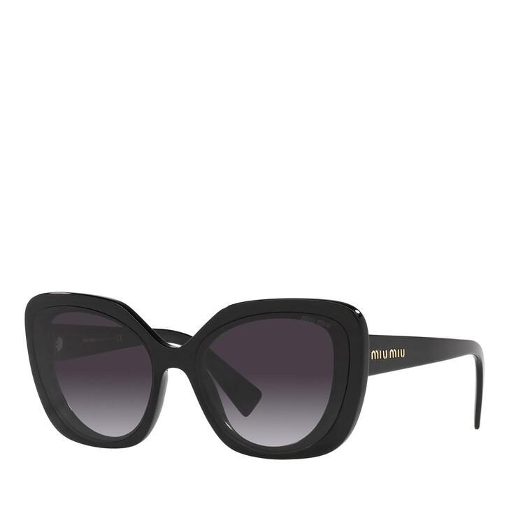 Sonnenbrille, Miu Miu, 0MU 06XS CYSTAL BLACK