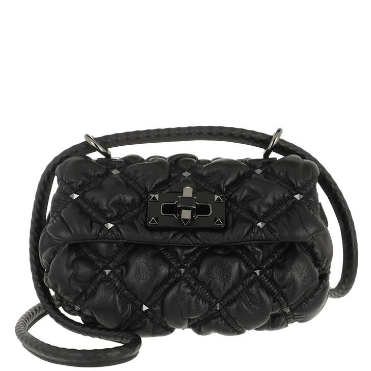 Handtasche, Valentino Garavani, Small Crossbody Bag Black Black