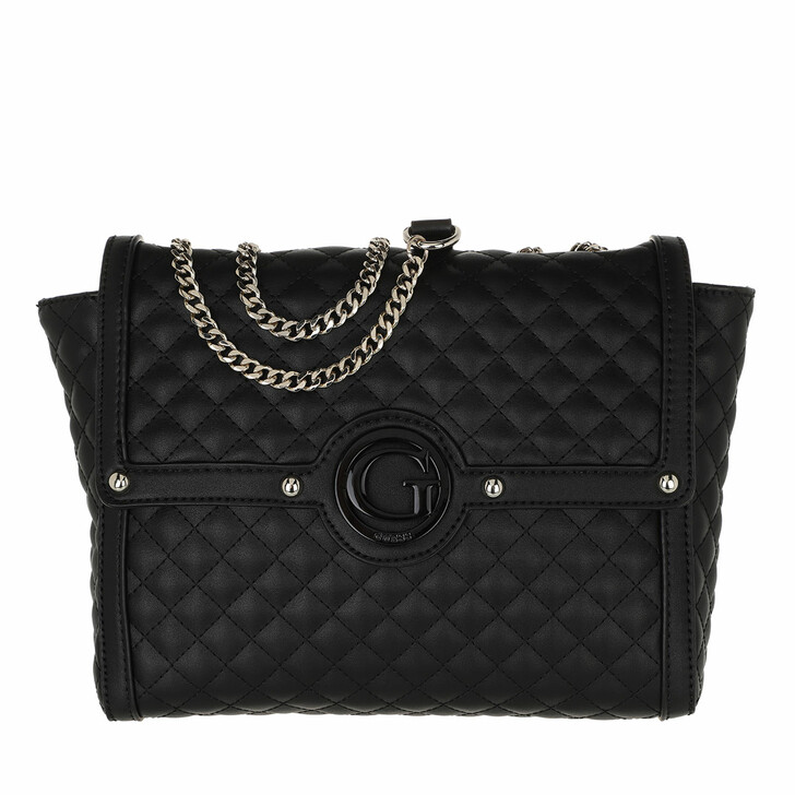 bags, Guess, Heyden Convertible Xbody Flap Black