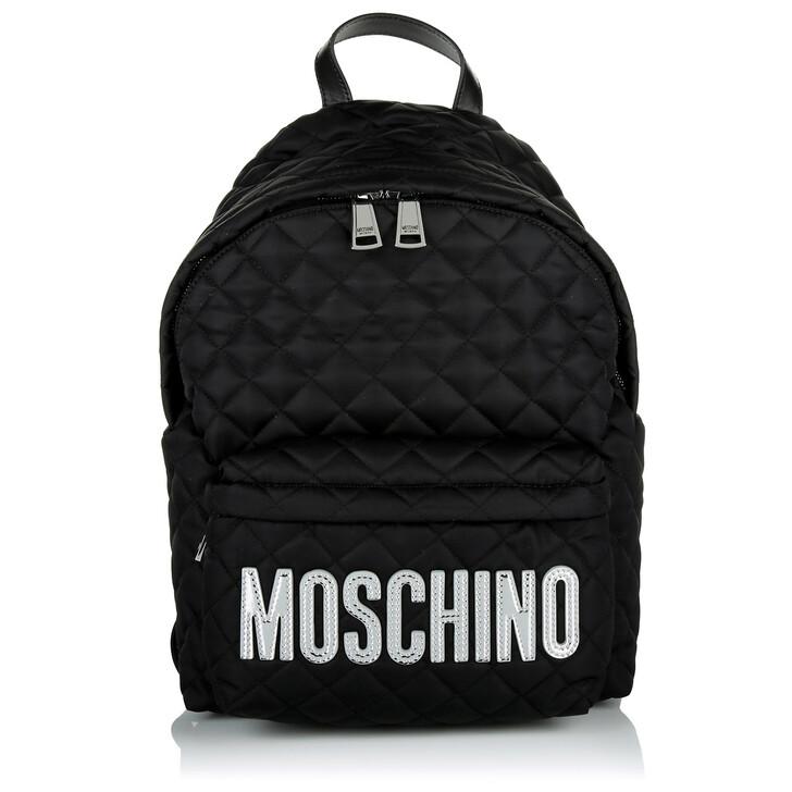 bags, Moschino, Zaino Fantasia Nero