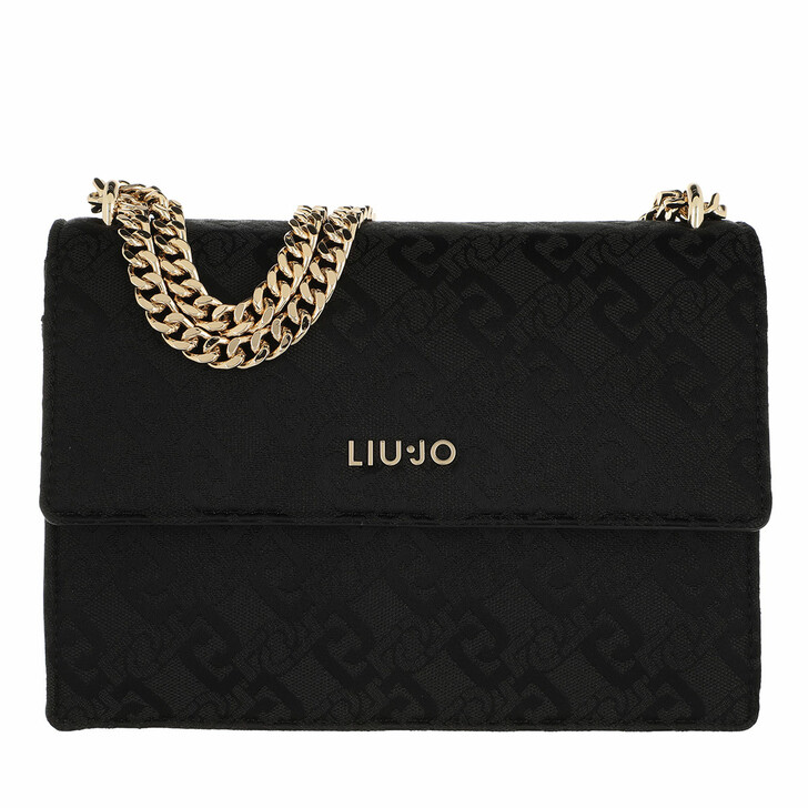 bags, LIU JO, M Crossbody Black