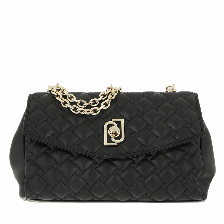 bags, LIU JO, Ecs M Crossbody Black