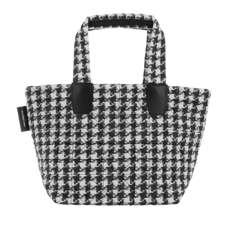 Handtasche, VeeCollective, Small Tote Bag Houndstooth