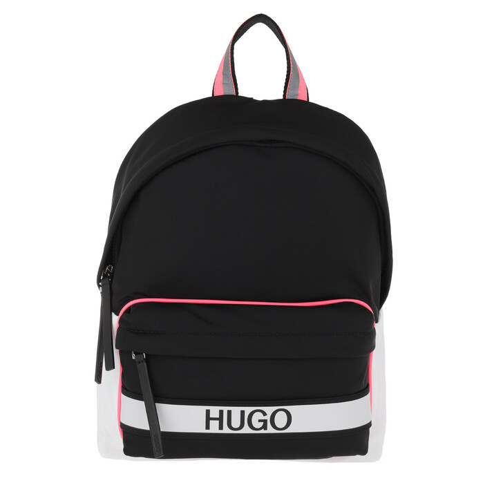 Reisetasche, Hugo, Record Backpack Black
