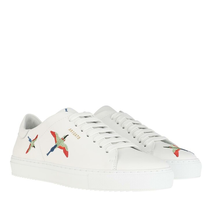 Schuh, Axel Arigato, Clean 90 Bird Sneakers White