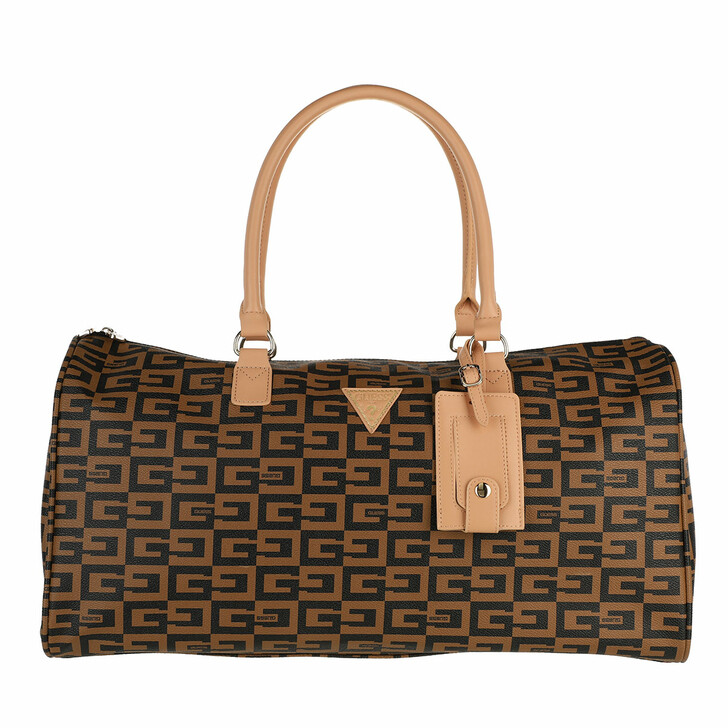 bags, Guess, 40Th Anniversary 18In Cry Dufl Brown