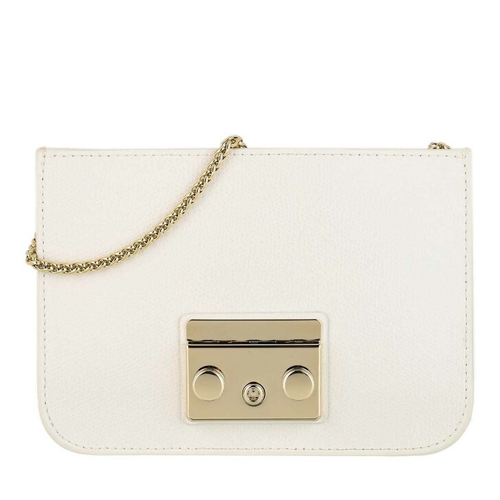 Handtasche, Furla, Metropolis Mini Crossbody Bag Talco