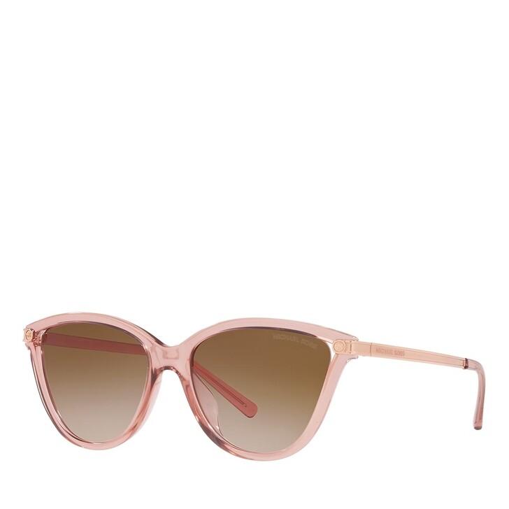 sunglasses, Michael Kors, 0MK2139U PINK TRANSPARENT