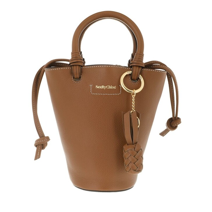 Handtasche, See By Chloé, Cecilia Shoulder Bag Leather Caramello