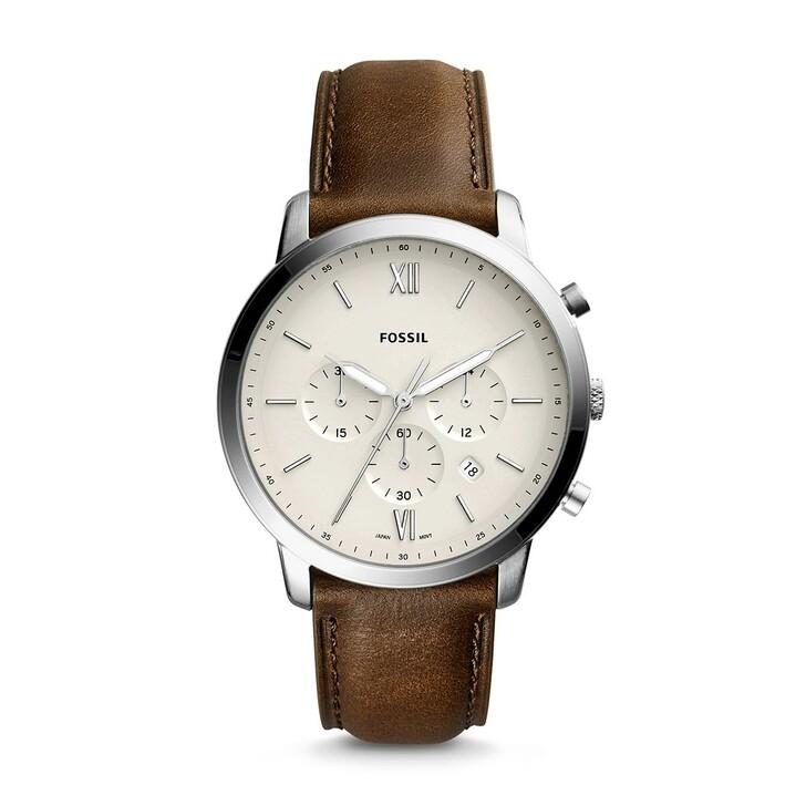 watches, Fossil, Watch Neutra Chrono FS5380 Silver