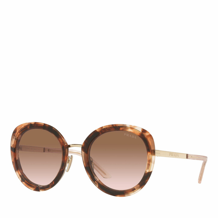 sunglasses, Prada, Woman Sunglasses 0PR 54YS Caramel Tortoise