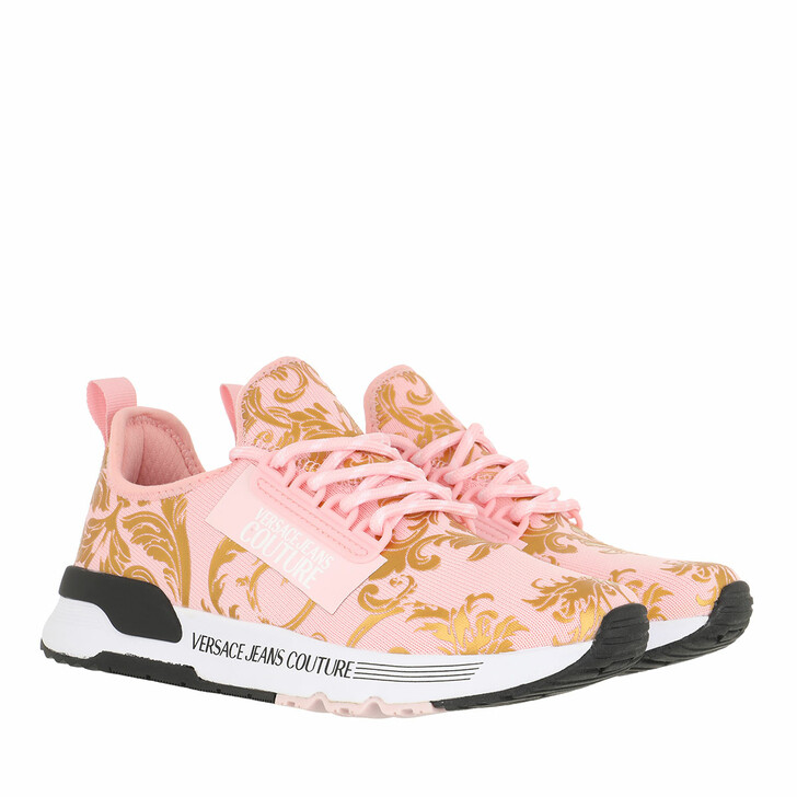 Schuh, Versace Jeans Couture, Linea Fondo Aerodynamic Sneaker Pink Gold
