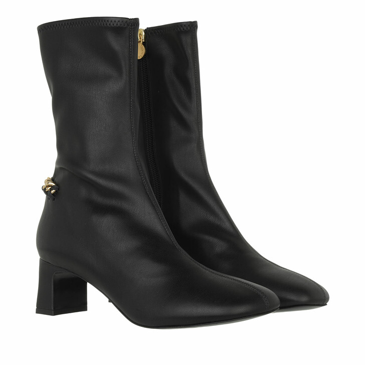 shoes, Stella McCartney, Falabella Stretch Ankle Boots  Black