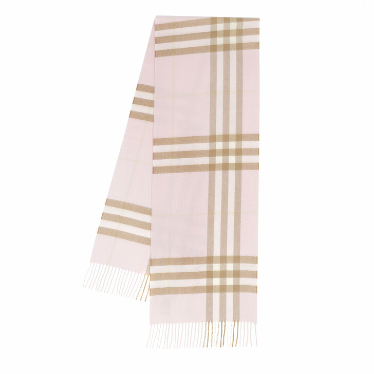 Schal, Burberry, Giant Check Scarf Alabaster