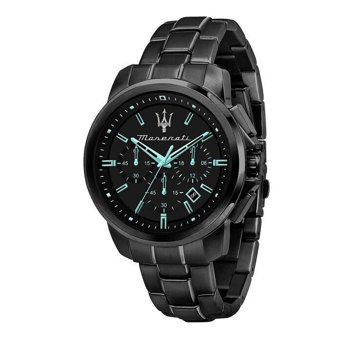 Uhr, Maserati, Aqua Edition 44mm black