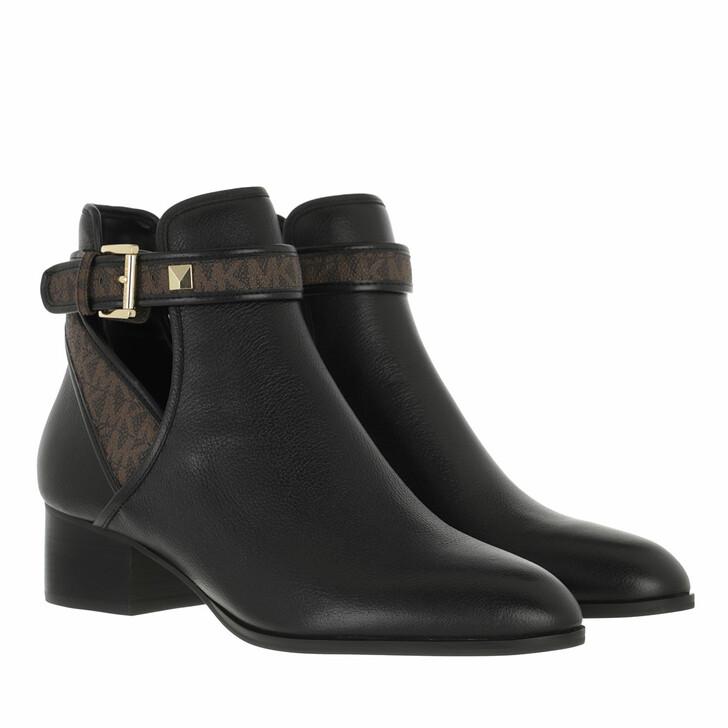 shoes, MICHAEL Michael Kors, Britton Bootie Black/Brown