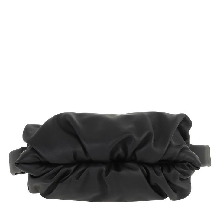 bags, Bottega Veneta, The Body Pouch Belt Bag Leather Black