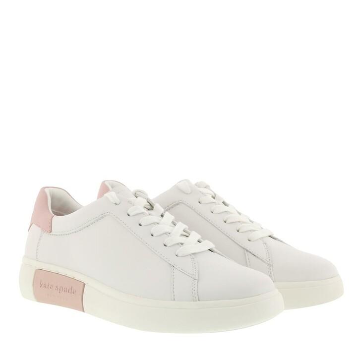 Schuh, Kate Spade New York, Lift Sneaker  Optic White/Tutu Pink