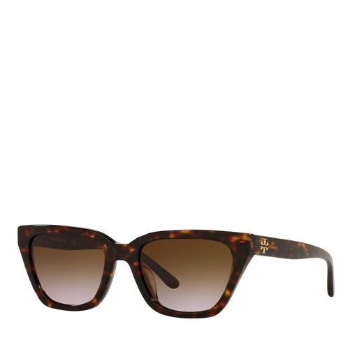 tory burch -  Sonnenbrille - 0TY7158U - in braun - für Damen