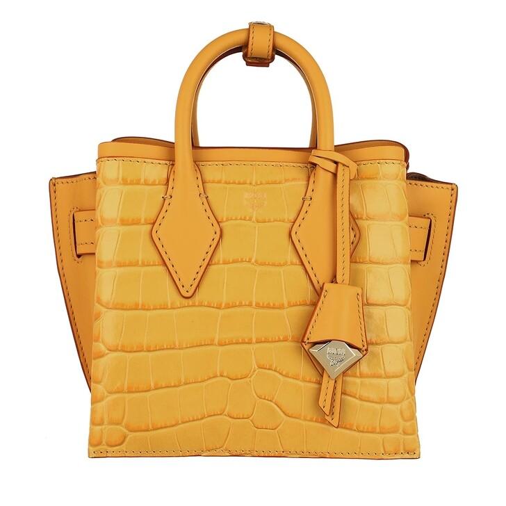 Handtasche, MCM, Neo Milla Tote Mini  Golden Mango