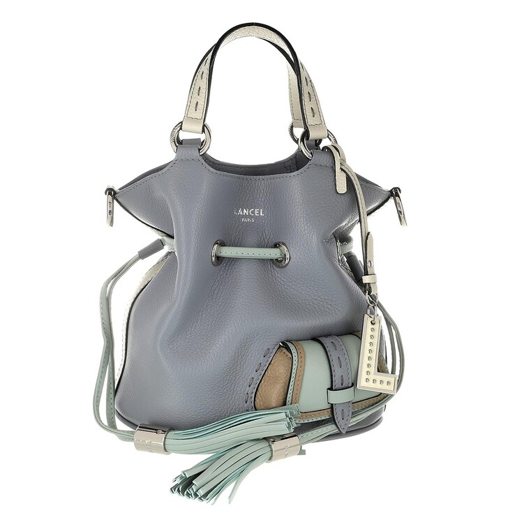 Handtasche, Lancel, Flirt Multicolore Bucket Bag Small Multicolour Glacier