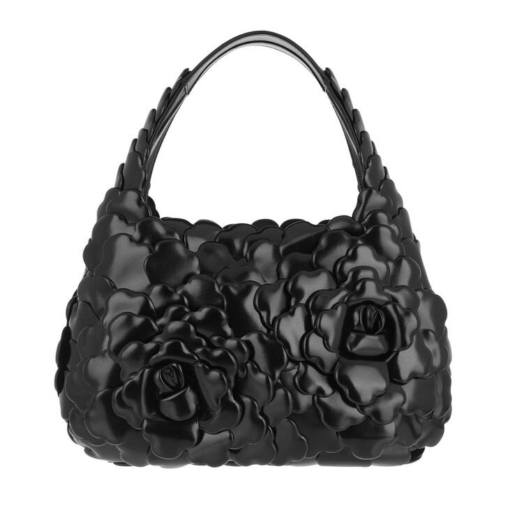 Handtasche, Valentino, Atelier Hobo Bag Nappa Leather Black