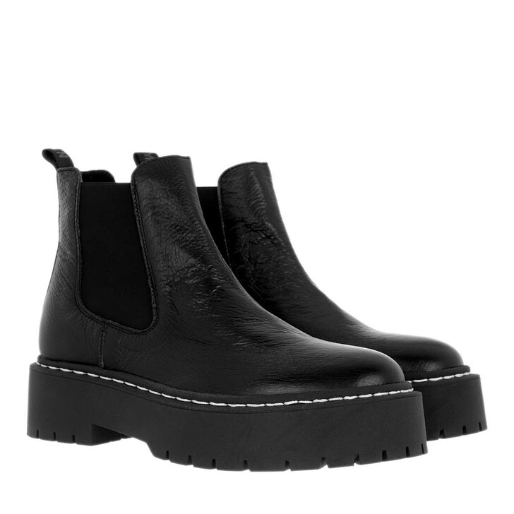 Schuh, Steve Madden, Veerly Ankle Boots Leather Black