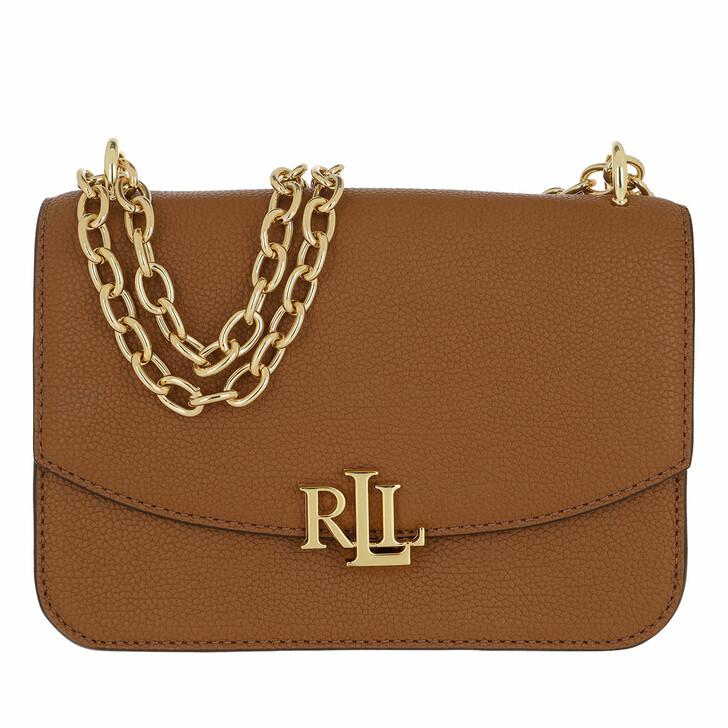 bags, Lauren Ralph Lauren, Madison 22 Crossbody Medium Lauren Tan