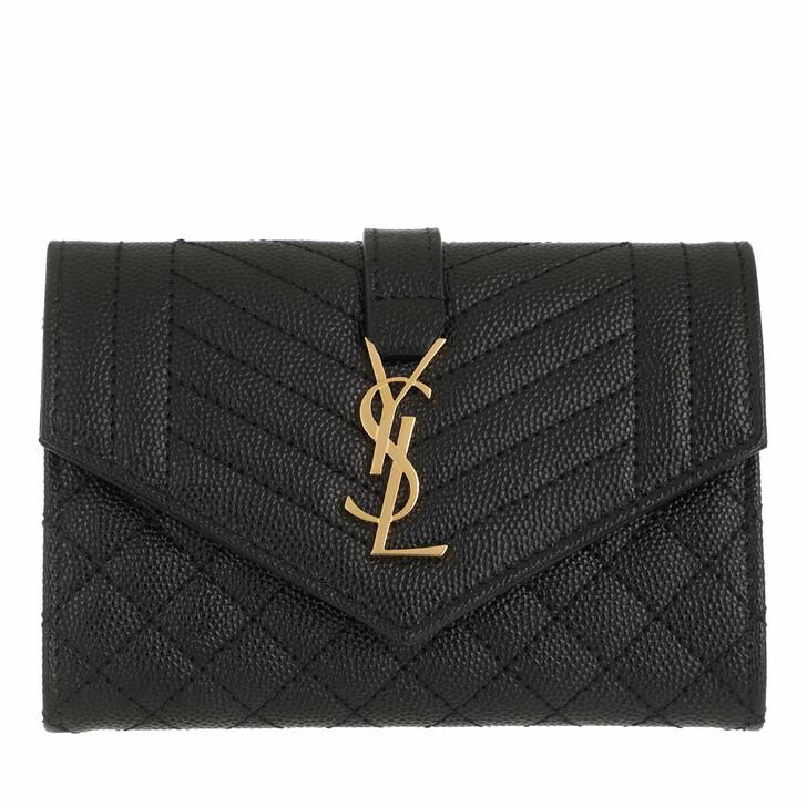 wallets, Saint Laurent, YSL Wallet Black