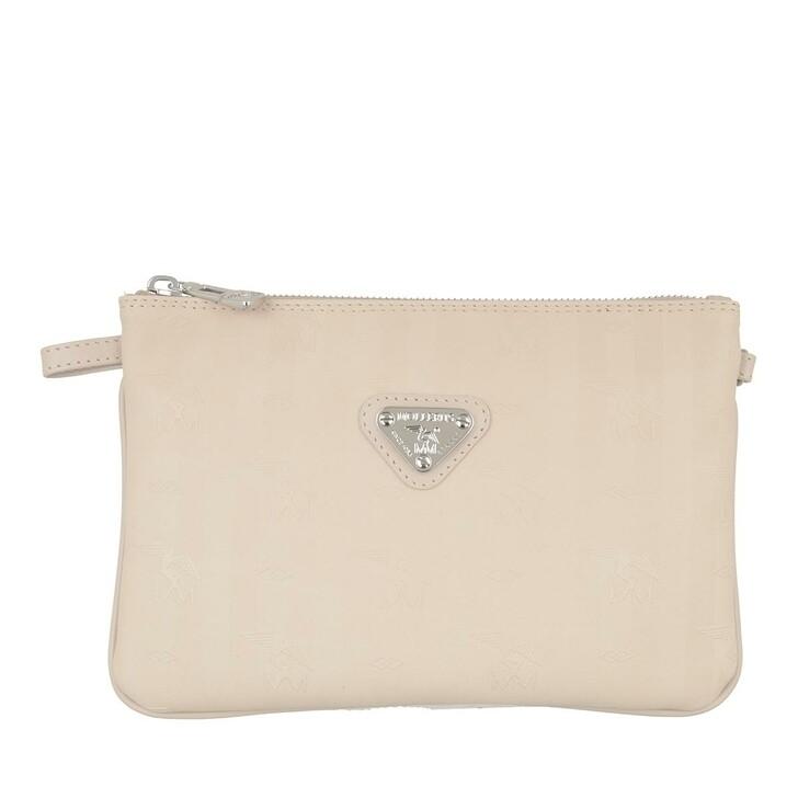bags, Maison Mollerus, Crossover Small Pearl Gold