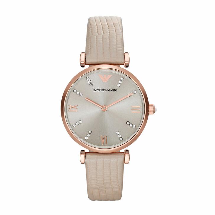 watches, Emporio Armani, AR1681 Retro Watch Roségold