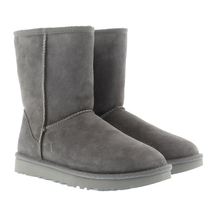 Schuh, UGG, W Classic Short II Grey