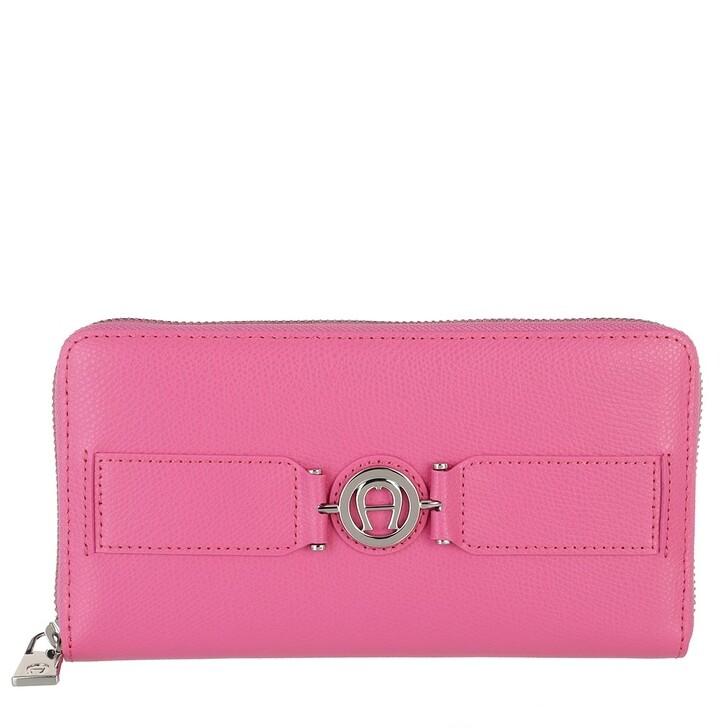 Geldbörse, AIGNER, Wallet Blossom Pink
